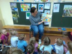 Galeria pani Bucka czyta.