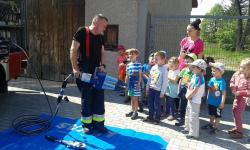 Galeria Strażacy w przedszkolu