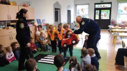 Galeria Spotkanie z przedstawicielami Policji i Straży Miejskiej