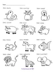 Galeria Meine Tiere - moje zwierzątka