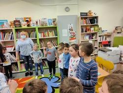 Galeria Wycieczka do biblioteki u Myszek
