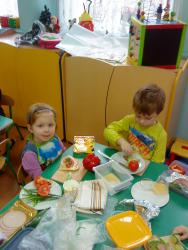 Galeria Robimy kanapki - motylki